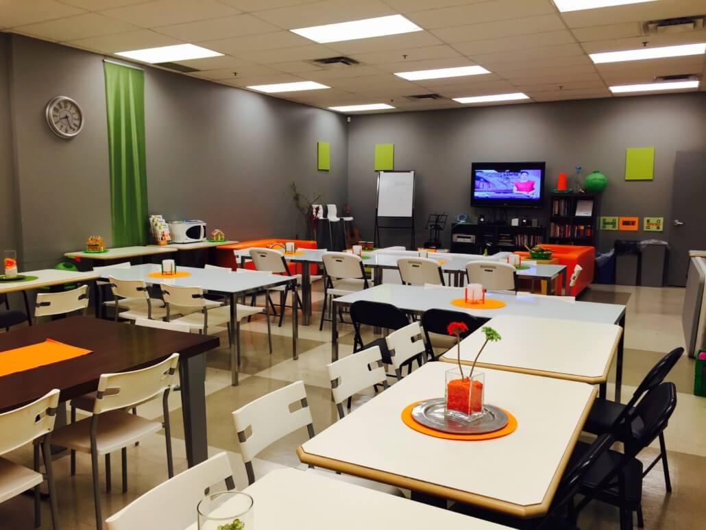Inlingua victoria campus classroom