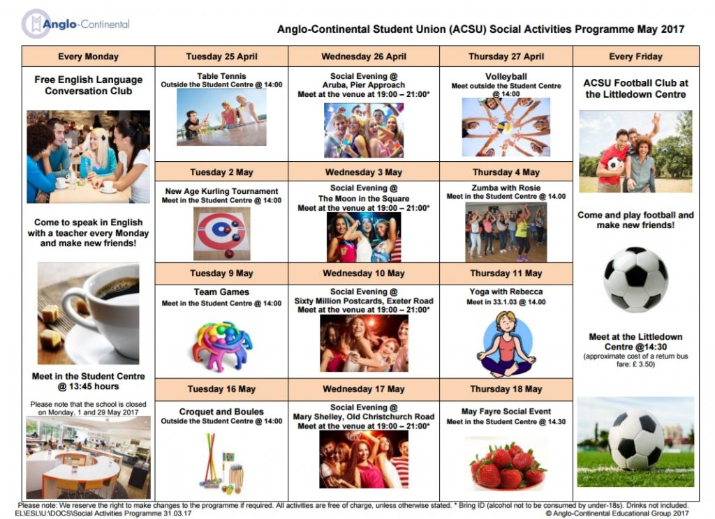 Anglo-Continental 【英國遊學】伯恩茅斯 語言學校- GLC鉅霖遊學