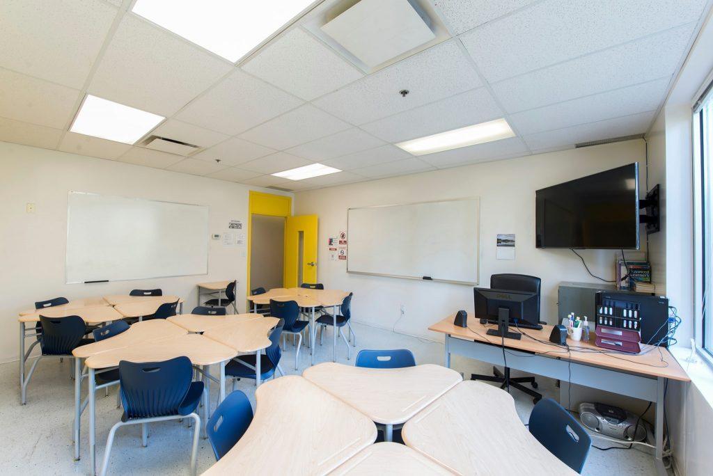 vanwest classroom