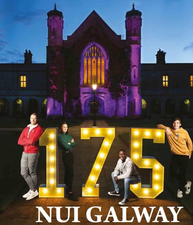 NUI  Galway National University of Ireland Galway 高威