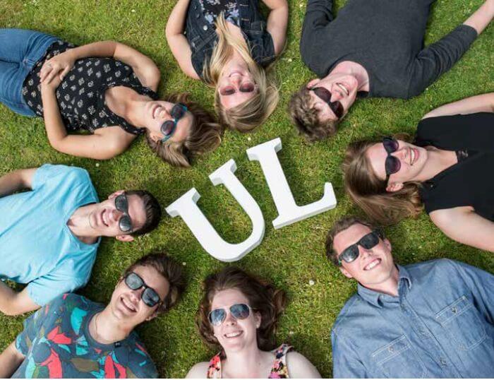 UL  University of Limerick 利默里克大學