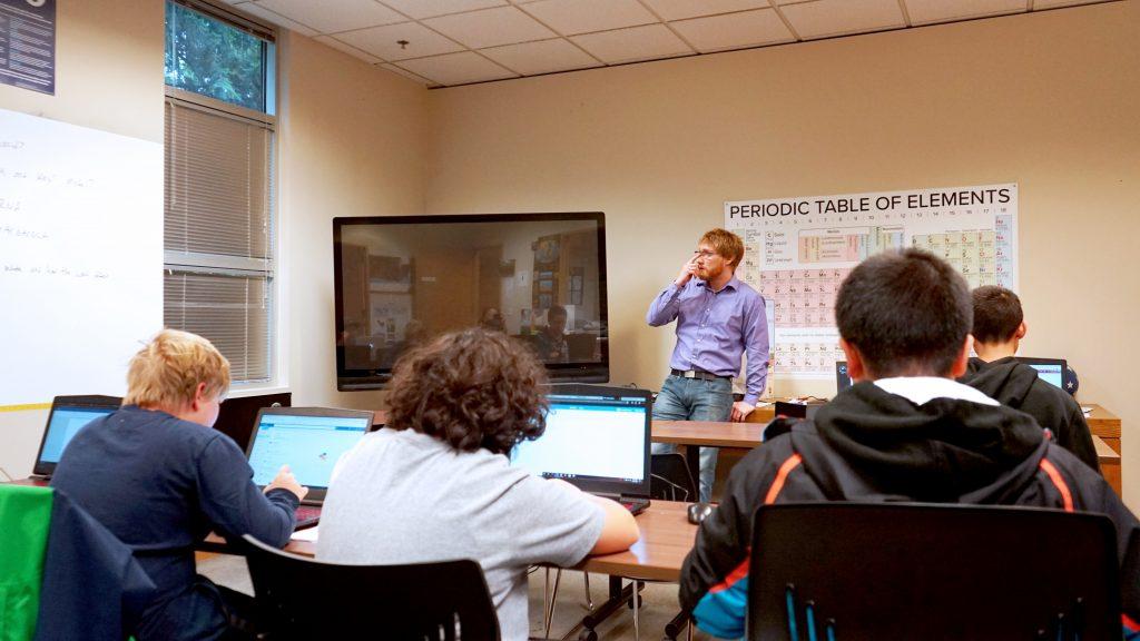 西雅圖華盛頓中學 Washington Preparatory School campus 線上課程